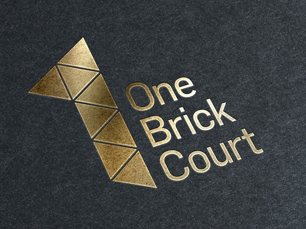 1BC Embossed logo